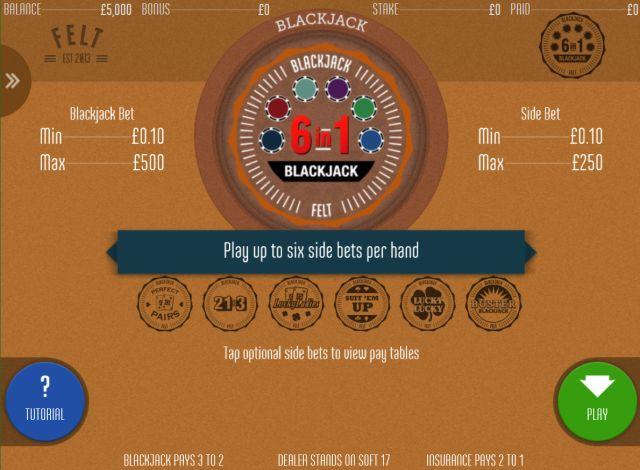 Blackjack 6 in 1 Vorschau