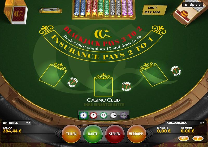 Blackjack Super 7 Vorschau