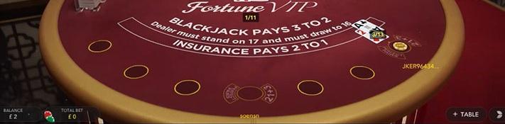 Blackjack Fortune Vorschau