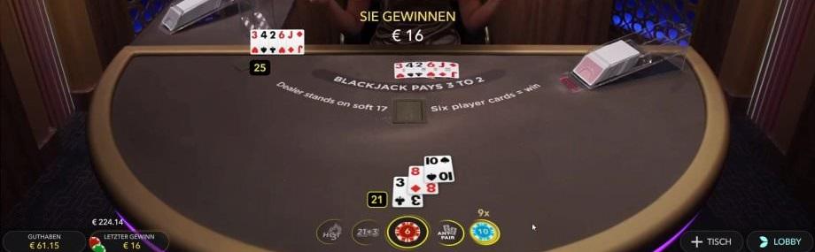 Infinite Blackjack Vorschau