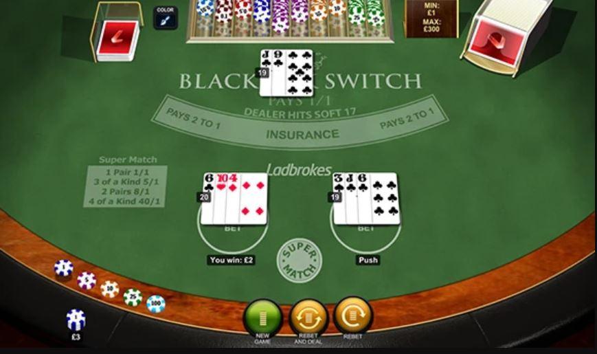 Vorschau zu Blackjack Switch